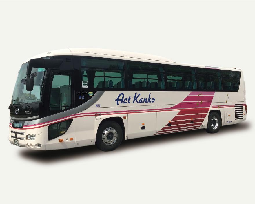 大型バス日野53人乗り