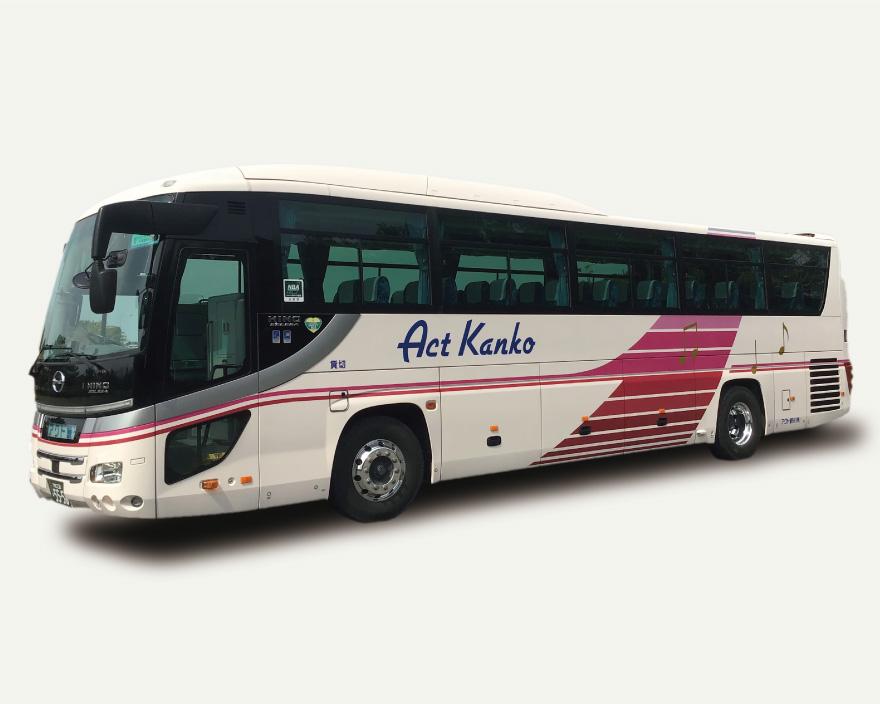 大型バス日野55人乗り