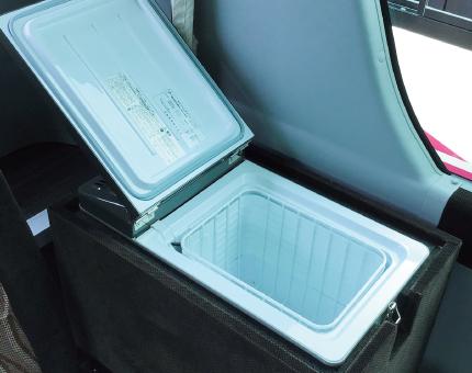 中型バス日野27人乗り冷蔵庫