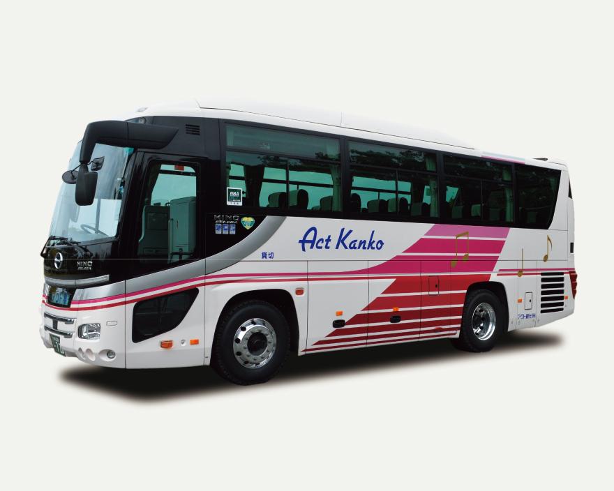 中型バス日野27人乗り
