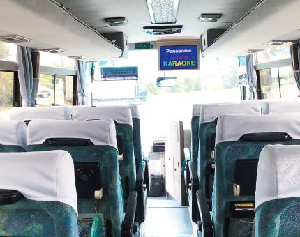 小型バス日野25人乗りTV